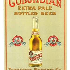 Columbian Beer Sign
