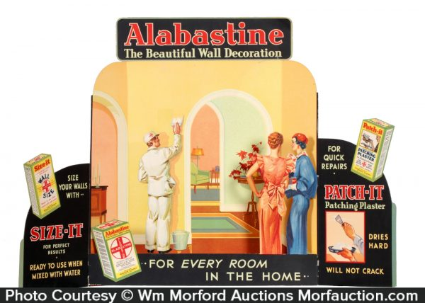 Alabastine Painters Display