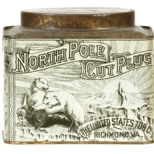 North Pole Tobacco Tin
