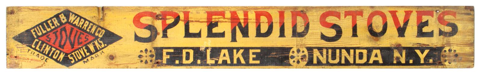 Splendid Stoves Sign