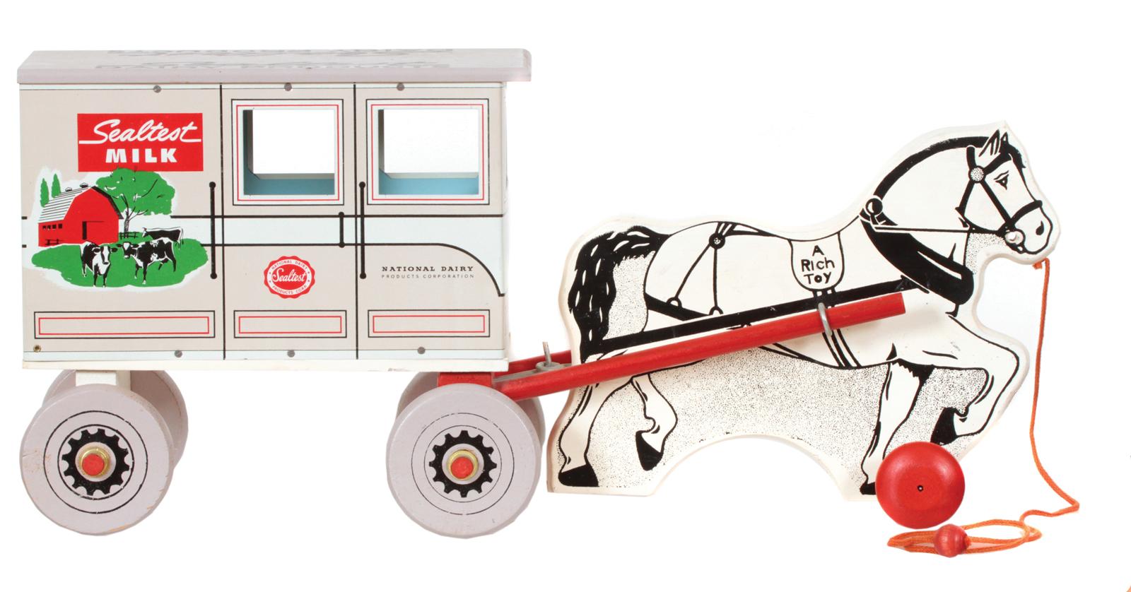 Sealtest Milk Wagon Toy