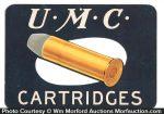 U.M.C. Cartridges Sign