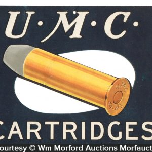 U.M.C. Cartridges Sign