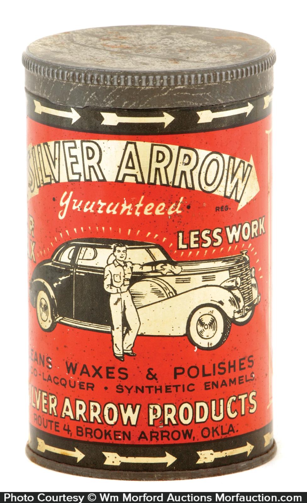 Silver Arrow Car Polish