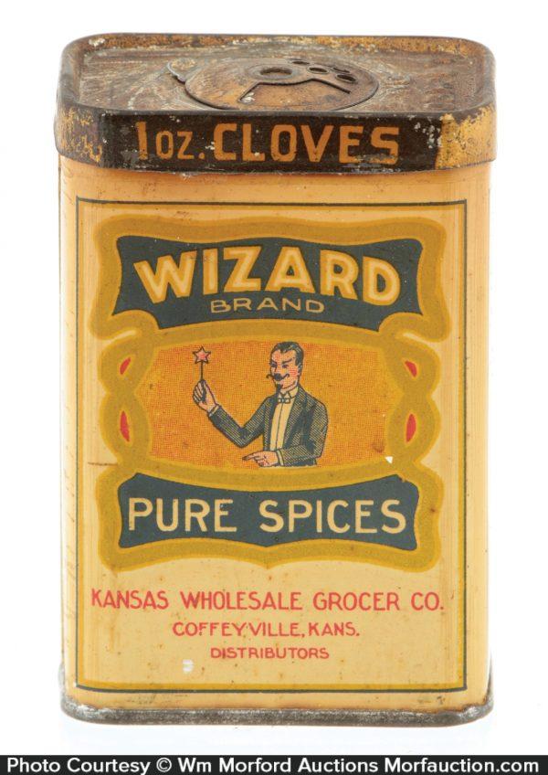 Wizard Spice Tin
