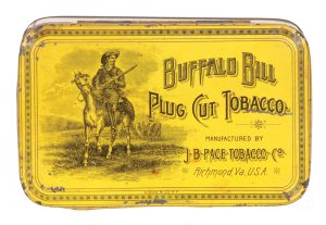 Buffalo Bill Tobacco Tin