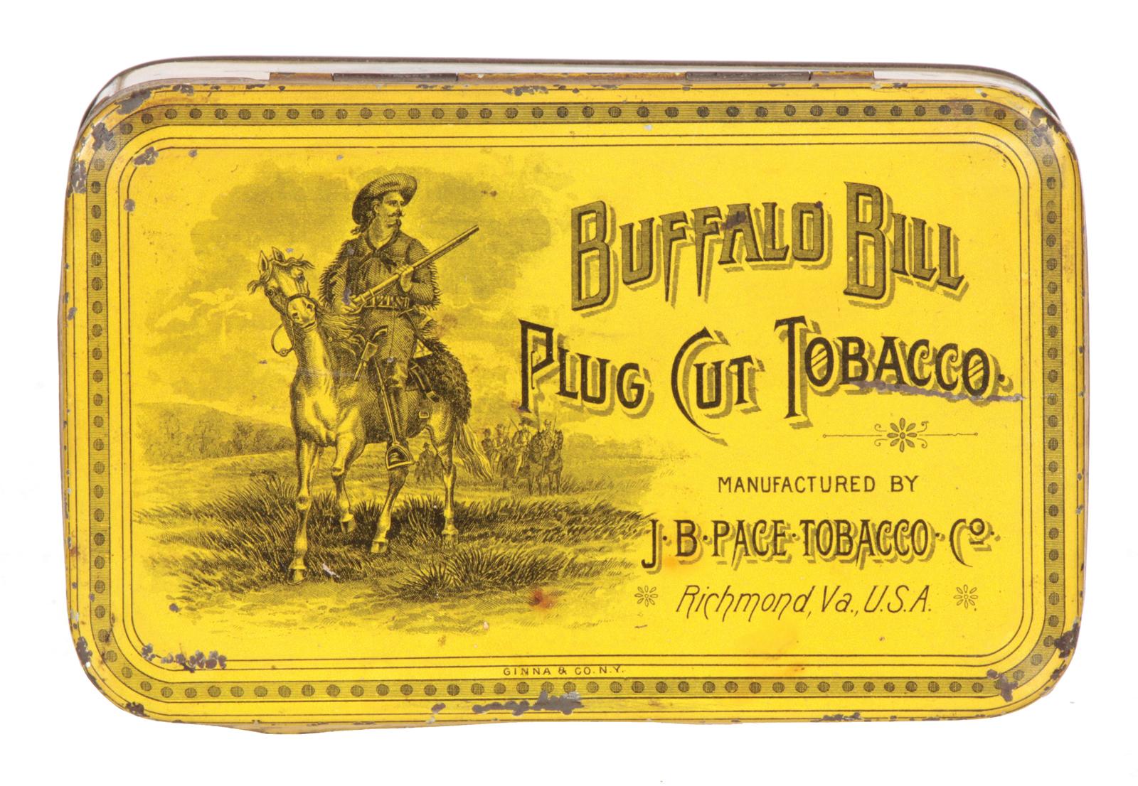 Buffalo Bill Tobacco Tin