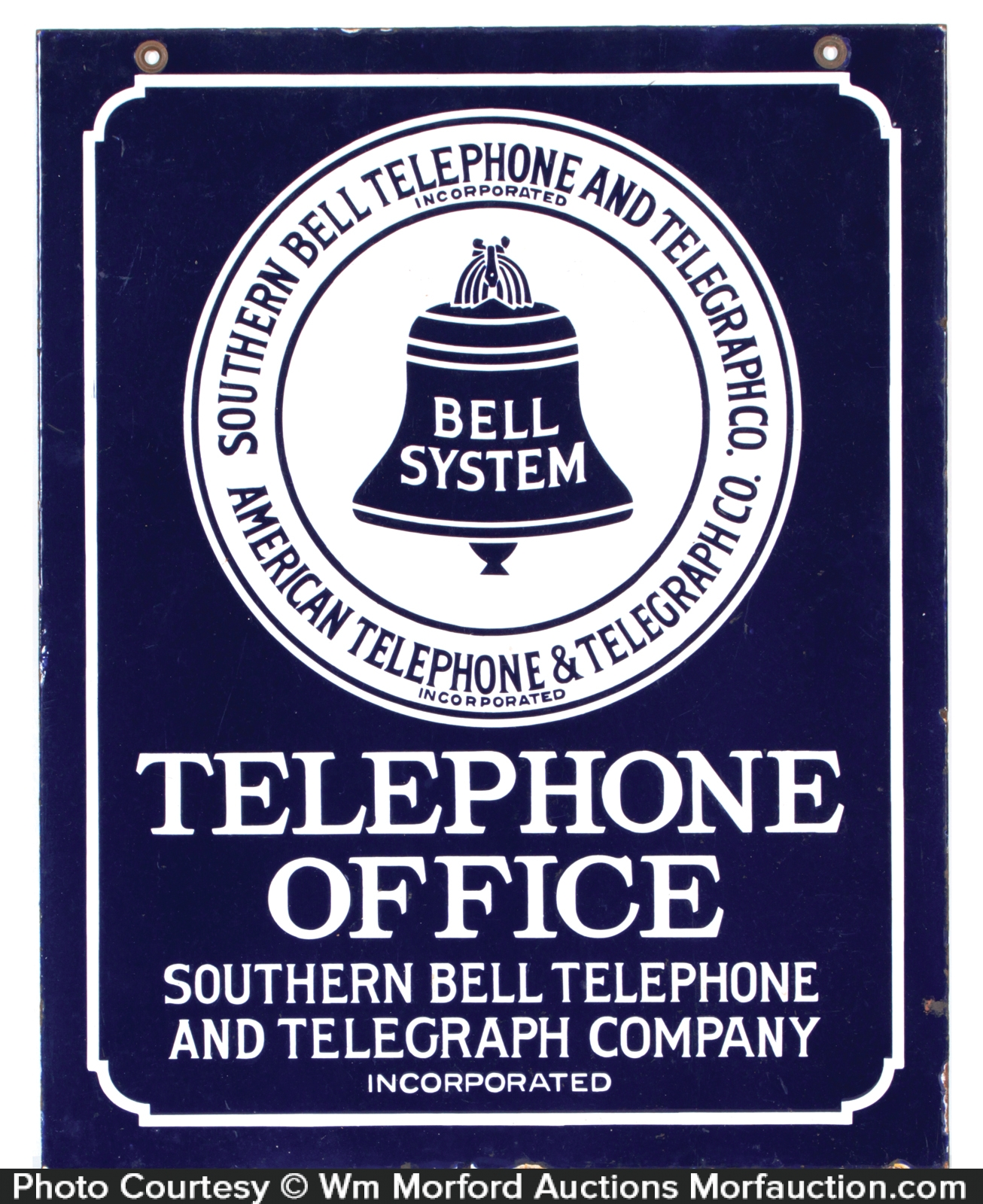 Telephone Office Sign