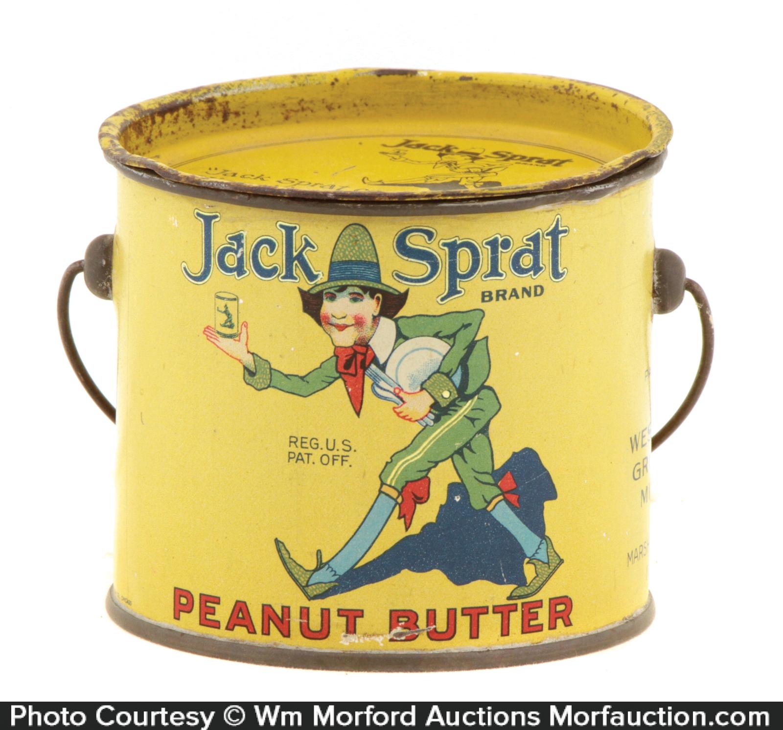Jack Sprat Peanut Butter Tin