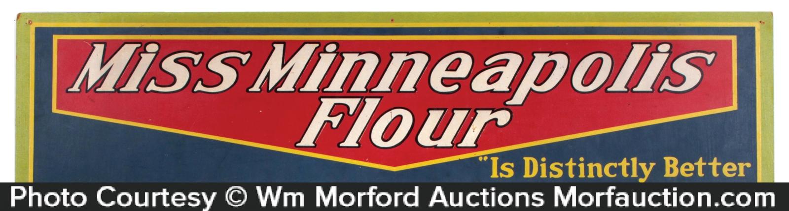 Miss Minneapolis Flour Sign