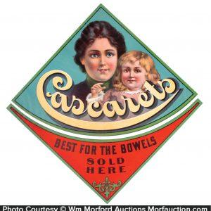 Cascarets Medicine Signs
