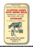 Stewart Livestock Clippers Knife Stone