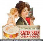 Satin Skin Powder Sign