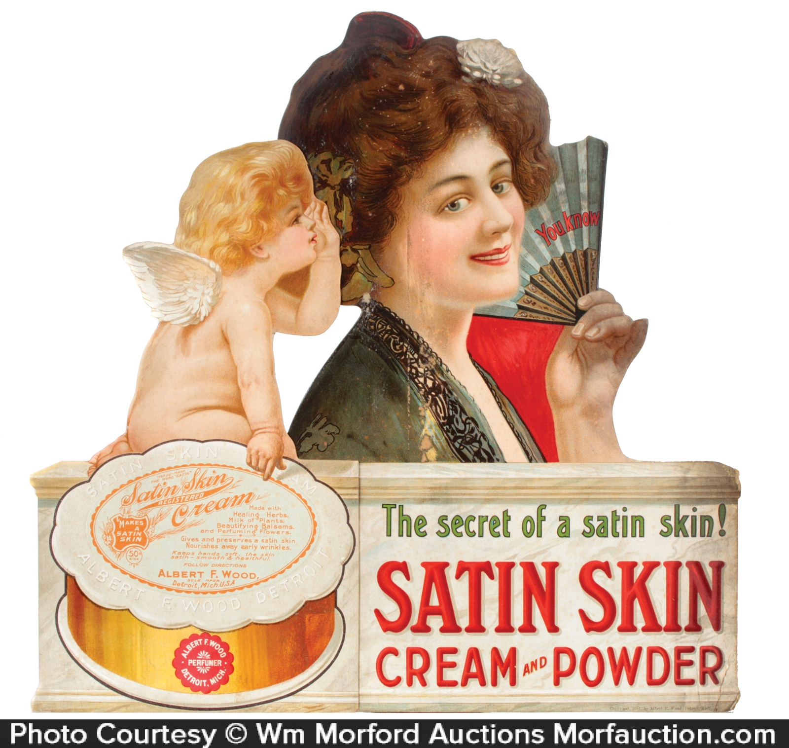 Satin Skin Powder Sign