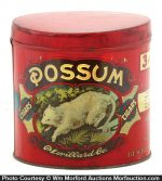 Possum Cigar Can