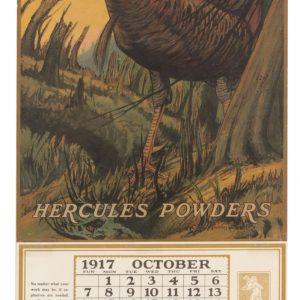 Hercules Gunpowder Calendar