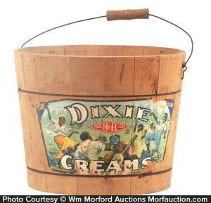 Dixie Creams Candy Bucket