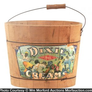 Dixie Creams Candy Bucket