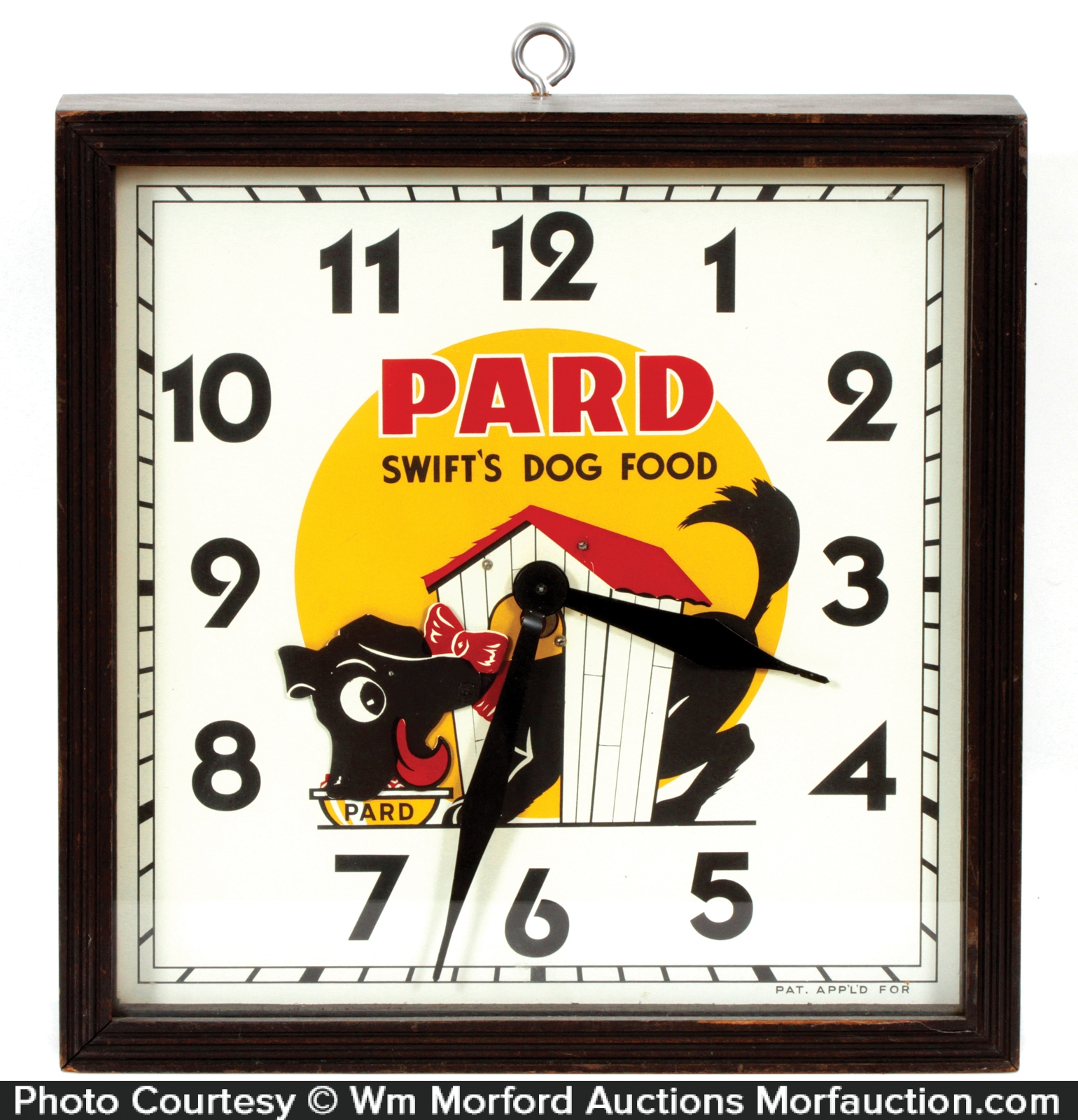 Pard Dog Food Clock