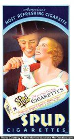 Spud Cigarettes Sign