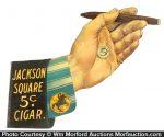 Jackson Square Cigar Sign