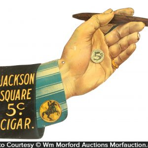 Jackson Square Cigar Sign
