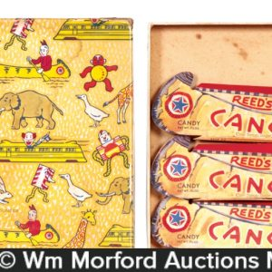 Reed's Canoes Candy Box