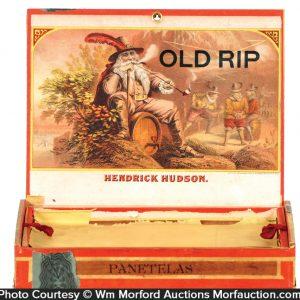 Old Rip Cigar Box