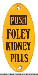 Foley Door Push