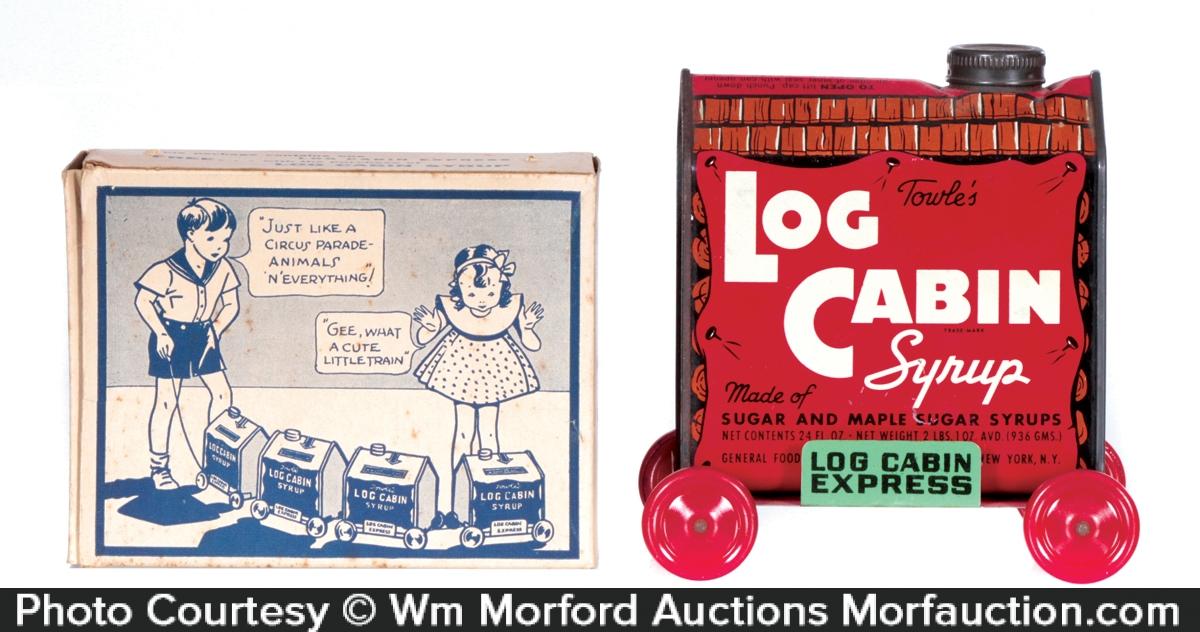 Log Cabin Express Toy