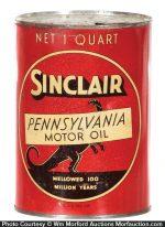 Sinclair Oil Can