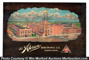 Akron Brewing Co. Sign
