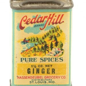 Cedar Hill Spice Tin
