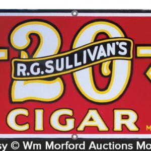 Sullivan's Cigar Sign