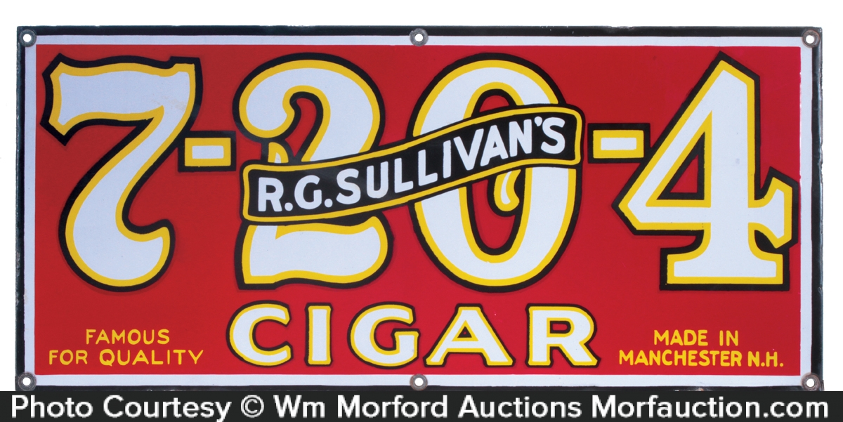 Sullivan's Cigar Sign
