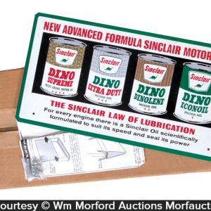 Sinclair Motor Oil Display