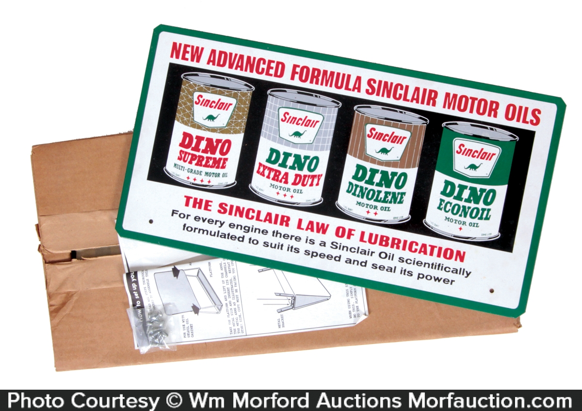 Sinclair Motor Oil Display