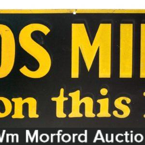 Fords Milker Sign