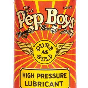 Pep Boys Grease Tin
