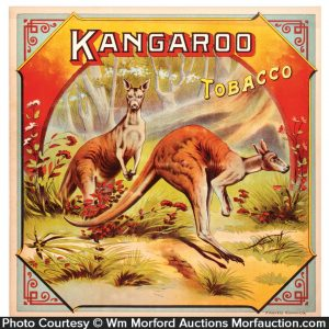 Kangaroo Tobacco Label