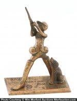 Savage Arms Bronze Figure