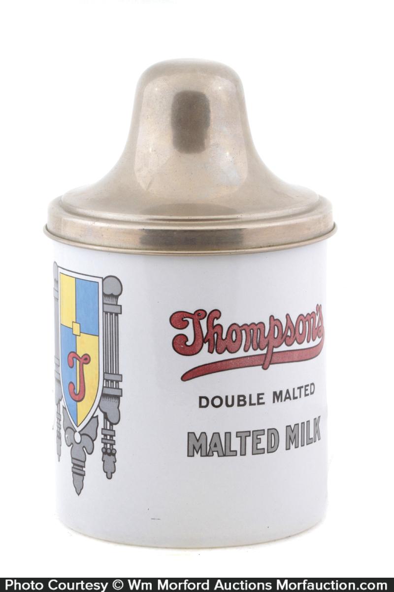 Thompson's Malt Container