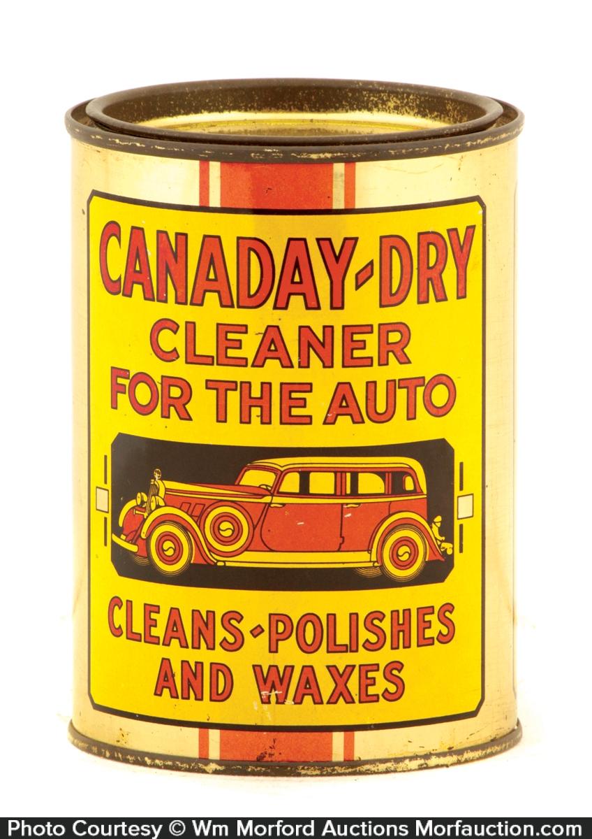 Canaday-Dry Auto Polish Tin