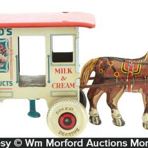 Toylands Dairy Wagon