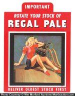 Regal Pale Sign