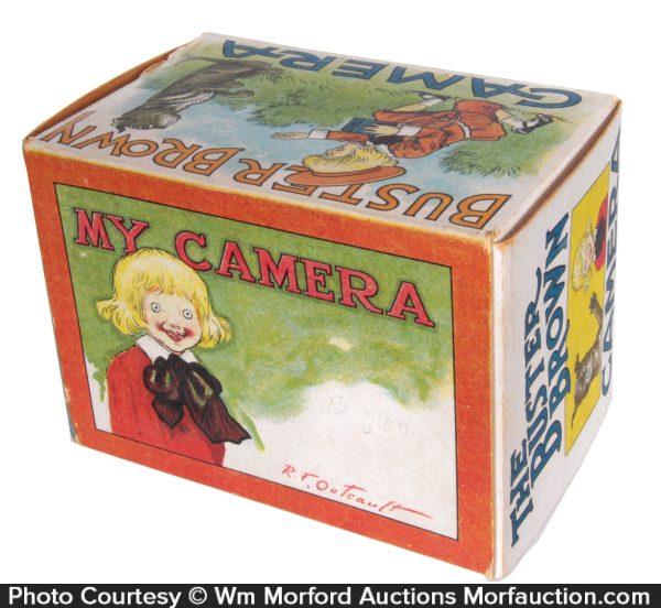 Buster Brown Camera Box