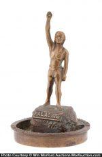 Palacine Petroleum Statue