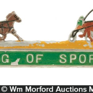 Horse Racing Plate Topper