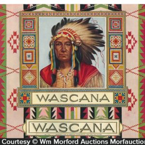 Wascana Cigar Label