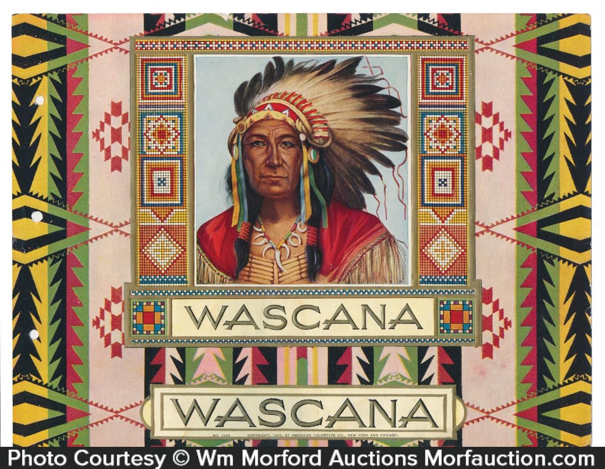 Wascana Cigar Label